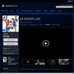 EA SPORTS UFC for PS4 - US $9.90 ~ AU $13.36 @ US PlayStation Store
