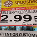 Ben & Jerry's Ice Cream: Choc Fudge Brownie 458ml $2.99 @ Spudshed (Innaloo WA)