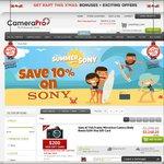 Save 10% on Sony Cameras & Lenses, Sony A7RII $3598 @CameraPro