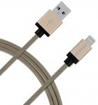 mbeat MB-iCAB-2G 2 Meters MFI Certified Aluminium Nylon Braided Lightning Cable $15 @ MSY