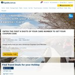 Expedia - Save 10% on Participating Hotels (AmEx Card Required)