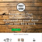 $10 off Your First Coffee Subscription (from $20 Per Month) at Roast & Grind