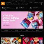 T2 Tea - 3 for 2 on Xmas feature teas