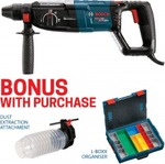 Bosch Rotary Hammer SDS Plus Drill GBH2-28-DBV Plus $89 Worth of Bonus Items for $260 Delivered @ Blackwoods Xpress