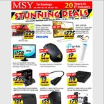 Asus Strix 4GB RX470 $239, Gamdias GMS5010 Mouse $7, Linksys X1000 Modem $21 and More @ MSY Technology