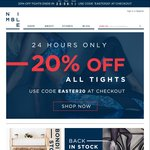 20% off Activewear Leggings at Nimble Activewear