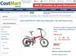 "Oyama Swift PRO 20"" 7SPD Alloy Folding Bike $552 Shipping $39.99 Australia Wide"
