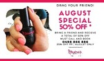 25% off Nail Services at Desirable Nails and Beauty @ 417 Adelaide St, Brisbane or Paddington