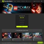 [PC] Steam - LEGO Pick & Mix Bundle - 3 Games for $9.99 US (~ $12.60 AUD) - Bundlestars