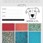 25% off Bandanas (for Dogs) @ Byron & Co ($8 Flat Shipping)