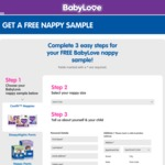 Free Babylove Nappy Pants Nappies for Babies