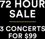 [VIC] Melbourne Symphony Orchestra - 3 Concerts for $99 (was up to $405)