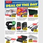 "MSY: ASUS IPS 27"" LCD 5ms + Spkr $229, AOC 23.6"" FHD LCD Spkr $129, Razer Blackwidow Ulti 2016 MechKB $99, Razer Headphones $35"