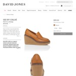 SEE BY CHLOÉ Martinica Wedge $99 Per Pair (Was $599) @ David Jones