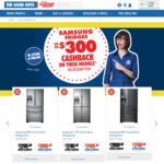 Up to $300 Cashback - Selected Samsung Fridges - GoodGuys Via Redemption