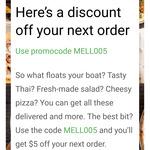 UberEATS $5 Discount Next Order