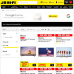 20% off Hisense TV's + 10% off Apple Mac Computers @ JB HI-FI