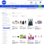 28% off Full Priced Toys (& LEGO) at BIG W