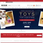 $10 off $60, $15 off $80, $20 off $100 Spend @ Myer