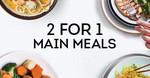 [QLD] 2 for 1 Meals Sunday - Thursday @ Fat Noodle, Kitchen @ Treasury & Bite (Brisbane)