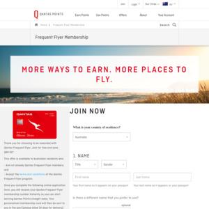 Free Qantas Frequent Flyer Membership via Family Free