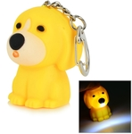 Cute Animals LED White Light Keychain with Sound Effect US $0.99 (AU $1.28) Delivered @ Tmart.com