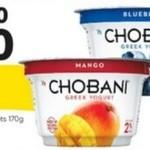 [QLD] 10x Chobani Yoghurt 170gm for $10 @ Woolworths