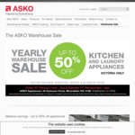 ASKO Annual Warehouse Clearance Sale: Dishwasher D5424W $749, Washing Machine W6564 $1099, Dryer T754CHP $1499 + More @ Asko VIC