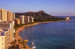 Hawaii Return from Sydney $428, Melbourne $458, Laun $509, Gold Coast $527, Hob $535, Bris $567, Adelaide $630 on Jetstar @ IWTF