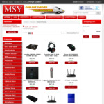 MSY Up to 52% off Sale: Netgear Nighthawk R7000P $164, Logitech Harmony 650 $47 + More