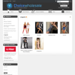 Clearance Sale: Women's Lingerie (Corsets, Adult Costumes, Intimate Night Wear) $9 or Less + Shipping @ ChoiceWholesale