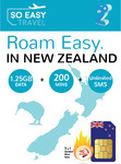 25% off New Zealand Travel SIM - $14.25 + Free Shipping - 1.25GB 4G LTE Data + 200 Mins Calls + Unlimited Texts @ SoEasy.travel