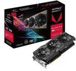 Asus AMD Radeon ROG STRIX RXVEGA56 O8G GAMING DDR5 Pcie Gaming Graphics Card $759 with Free Shipping  (Was $1099) @ Atgears
