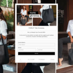 Win a Midnight Onyx Tote Bag Worth $450 from Fairley