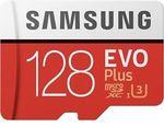 Samsung Evo+ Micro SD Card: 2x 128GB  $61.20 (Plus Members), 2x 64GB $45.90 Delivered @ PC Byte on eBay