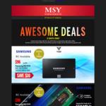 Samsung 860 EVO SSD 250GB SATAIII and 250GB M.2 $96 @ MSY