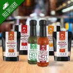 Chilli Head Gift Packs - Spicy Smokey BBQ Rubs & Sauces from Harvey's Kitchen $36.40 SAVE 25% (RRP $48.50) + Free Shipping