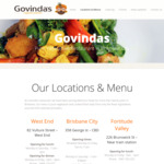 [QLD] All You Can Eat Indian (Vegetarian) Food $12.90 @ Govinda's (Brisbane CBD, West End, Fortitude Valley)