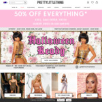 50% off Sitewide @ Pretty Little Thing