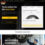 Tyres 15% off @ Supercheap Auto