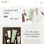 25% off Endota's New Age, Organics & Colour Skincare Products + Free Shipping @ Endota Spa