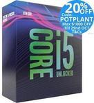 Intel 9th Gen Core i5 9600K/i7-9700k Processor $411.20/$626.40 Delivered @ Tech Mall eBay