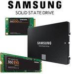 Samsung 860 EVO SSD 500GB $100 Delivered @ Futu Online eBay