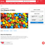 [QLD] 1 Kilo of M&Ms $8.00 @ Candy Time via Scoopon (Multiple Brisbane/Goldcoast Locations)