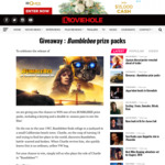 Win 1 of 10 Bumblebee Double Pass & Keyring Packs from Moviehole