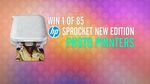 Win 1 of 85 HP Sprocket Photo Printers Worth $149 from Nine Network