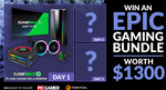 Win a Gaming Bundle incl a GameMax PC Building Kit Worth $1,800 from PC Gamer/Fanatical
