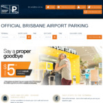[QLD] 14% off AIRPORT & 20% off AIRPARK Brisbane Airport Parking