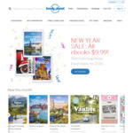 Lonely Planet Online Store - ALL eBooks $9.99 @ Lonely Planet
