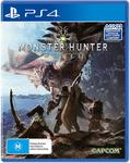 [PS4] Monster Hunter: World $30 + Delivery (Free with Prime/ $49 Spend) @ Amazon AU
